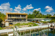 Luxury mansion under construction Miami Beach