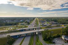 Aerial Photo Of Kingsland GA USA