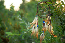 Dreamcatcher At Sunset With Co...