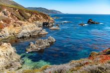 Coastline Of California Usa.  ...