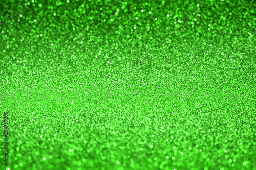 green glitter texture christmas abstract background,   Defocused
