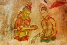 Sigiriya Maiden With Fruits: O...