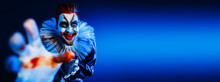 Angry Crazy Clown