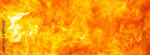 Canvas Prints Fire / Flame abstract blow up blaze, flame, fire element texture for banner background, hot theme, design, concept