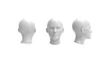 3d Rendering Of A Human Model ...