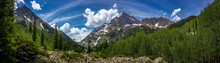 Maroon Bells And Crater Lake P...