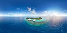 Aerial Spherical Panorama Of T...