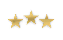 Rating Review Icon On Isolated...