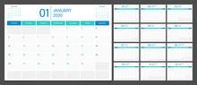 Calendar 2020 Week Start Sunda...