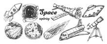 Collection Of Space Exploring ...