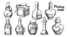 Collection Of Different Potion...