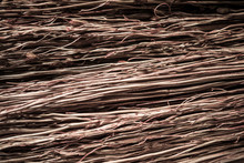 Straw Broom Texture