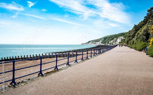 Obraz na płótnie Eastbourne promenade, East Sussex, England