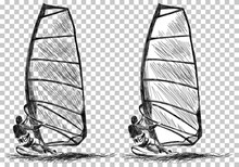 Windsurfing Sketch