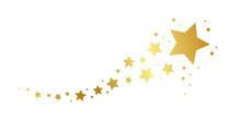 Christmas Golden Falling Star ...
