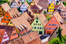 Old Town Of Dinkelsbuhl - Germany