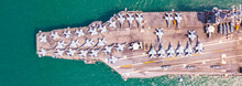 Top View Aircraft Carrier Wars...