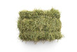 canvas print picture - Studio shot of straw hay on a white background.