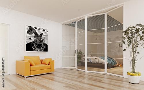 Fotografie, Obraz Modern apartment  interior.