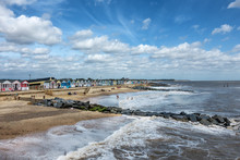 Beach Huts On Southwold Beach ...