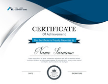 Certificate Of Appreciation Design Template