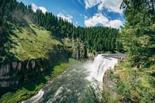 Upper Mesa Falls, Idaho, USA.