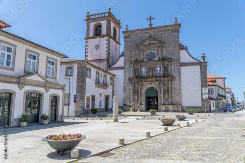 Obraz na plátně  Église São Domingos à Viana do Castelo, Portugal