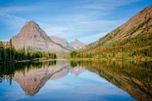 Two Medicine Lake, Glacier Nat...