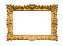 Retro Wide Decorated Baroque Painting Frame
