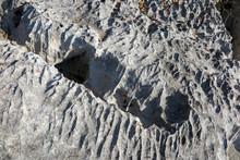 Karst - Verwitterter Kalkfels - Karst Eroded Limestone