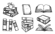 Educational Books Icons Collection