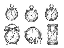 Collection Of Different Time D...