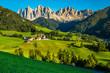 Santa Maddalena And Dolomites- Val Di Funes, Italy