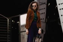 Outdoor Street Fashion Portrai...