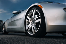 Modern Luxury Supercar Front Wheel Rims