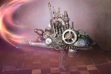 Titolo: Steampunk Macchina Del...