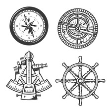 Marine Navigation Compass, Shi...