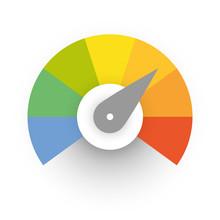 Multicolored Spectrum Radial G...