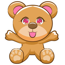 Teddy Bear Vector Clipart