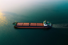 Shipping Cargo To Harbor By Sh...