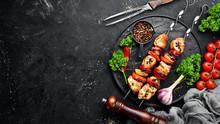Chicken Shish Kebab With Onion...
