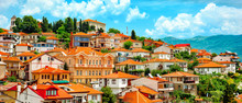 North Macedonia. Ohrid. Differ...