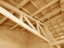 The Construction Of A Wooden R...