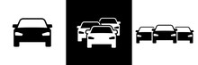 Car Symbols Frontal Car Icons