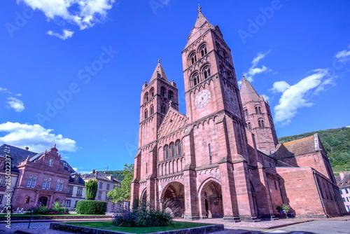 Eglise St-Leger in Guebwiller, France