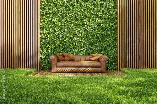 Fototapeta Inner courtyard obraz