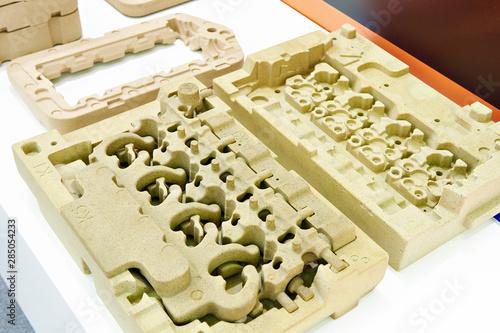 Fototapeta Low pressure sand mold casting parts obraz