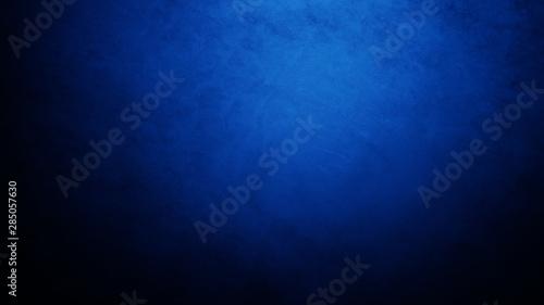 Fototapeta Dark, blurred, simple background, blue black abstract background blur gradient obraz na płótnie