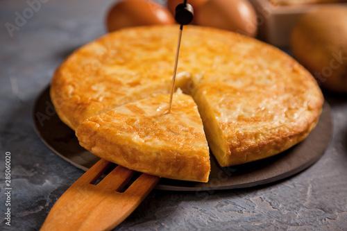 Tortilla española de patata casera