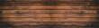 canvas print picture - alte braune dunkle rustikale Holztextur - Holz Hintergrund Banner lang